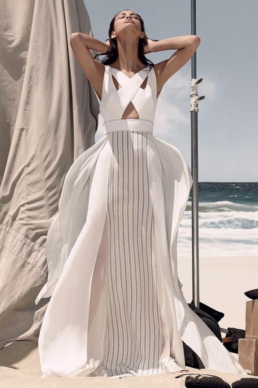 summer white dress fashion blog