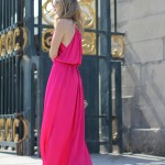 LONG AND FUCHSIA… IN PARIS