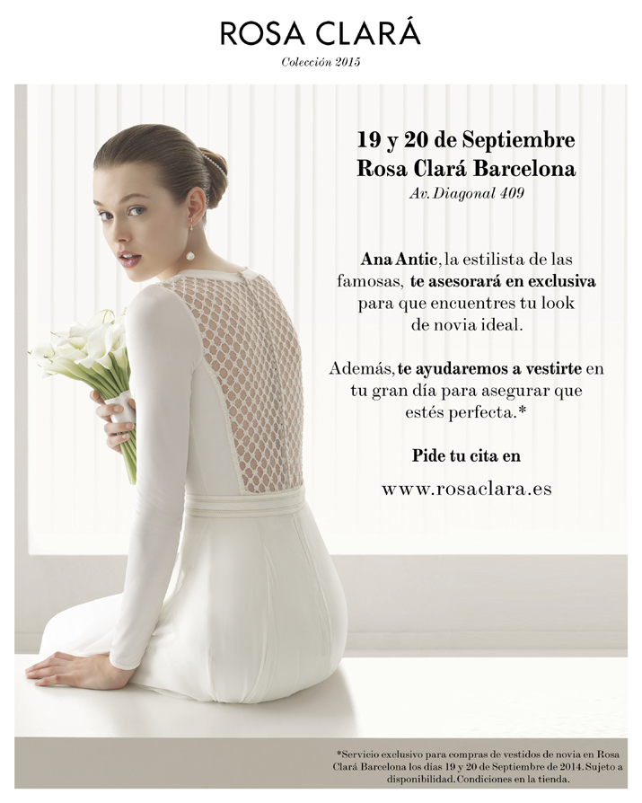 Evento Barcelona. 19-20 sept.