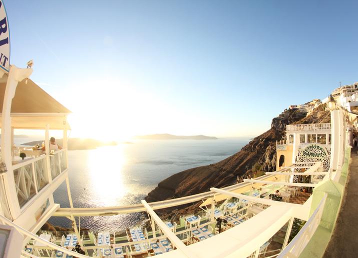 Santorini Thira views