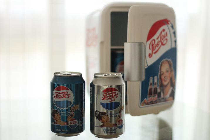 Pepsi Light Vintage blogger