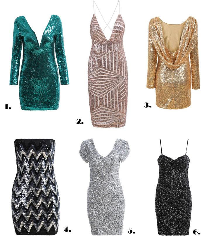 Sequins-dresses