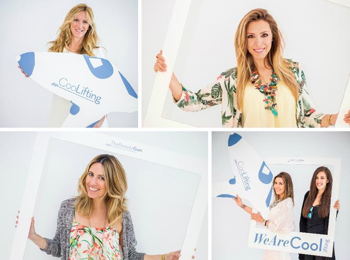 Gisela, Alejandra Prat, Monica Sors y Secretos de Chicas evento Coolifting