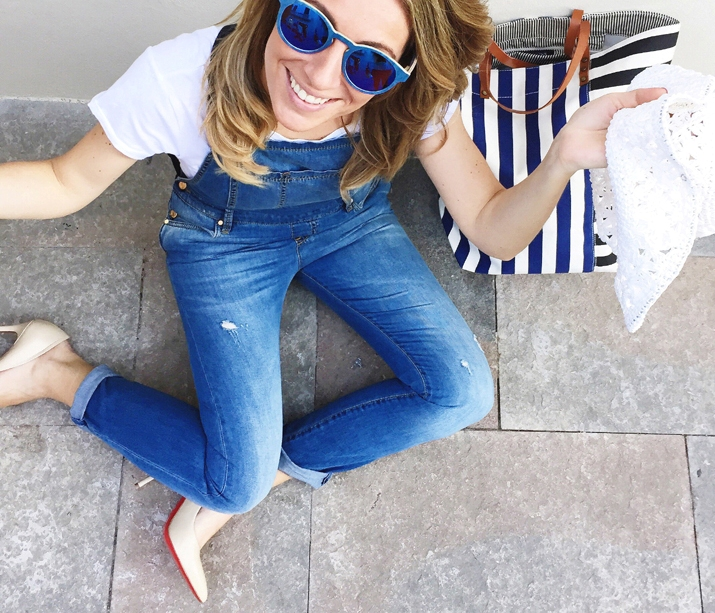 Denim-outfit-blogger-la-roca-village-Monica-Sors