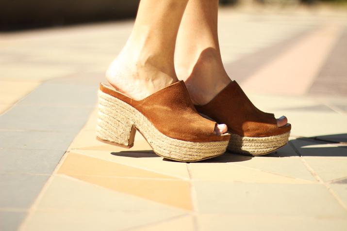 suede sandals Zara SS15