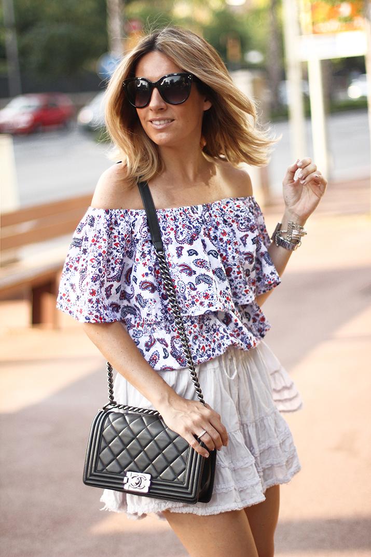 off-the-shoulder-outfit-barcelona-blogger