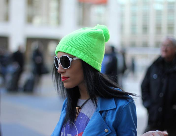 Beanies Street Style inspiration New York Fashion Week (5)