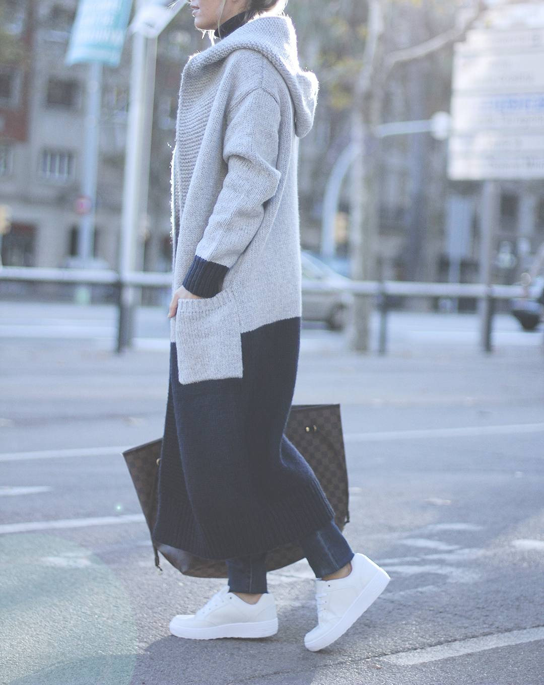 maxi-cardigan-blogger-look-2015-BARCELONA