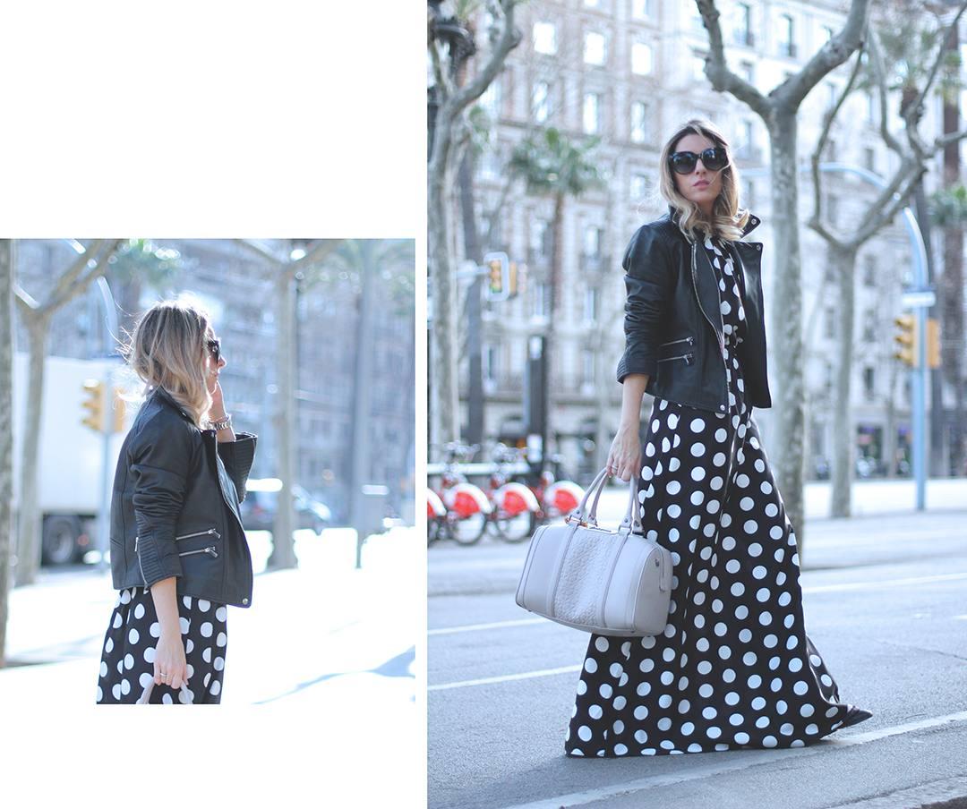 Barcelona-fashion-blogger-mes-voyages-a-paris-dots-dress