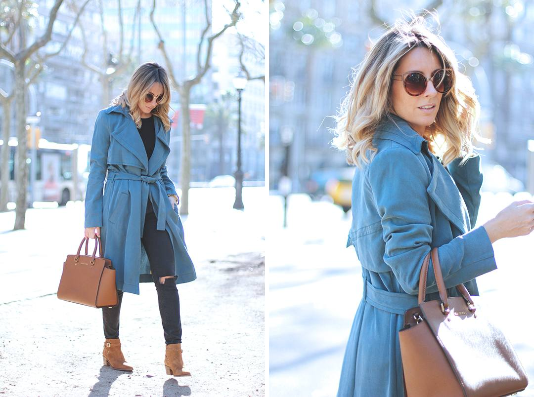 Blue-trench-fashion-blogger-ikks