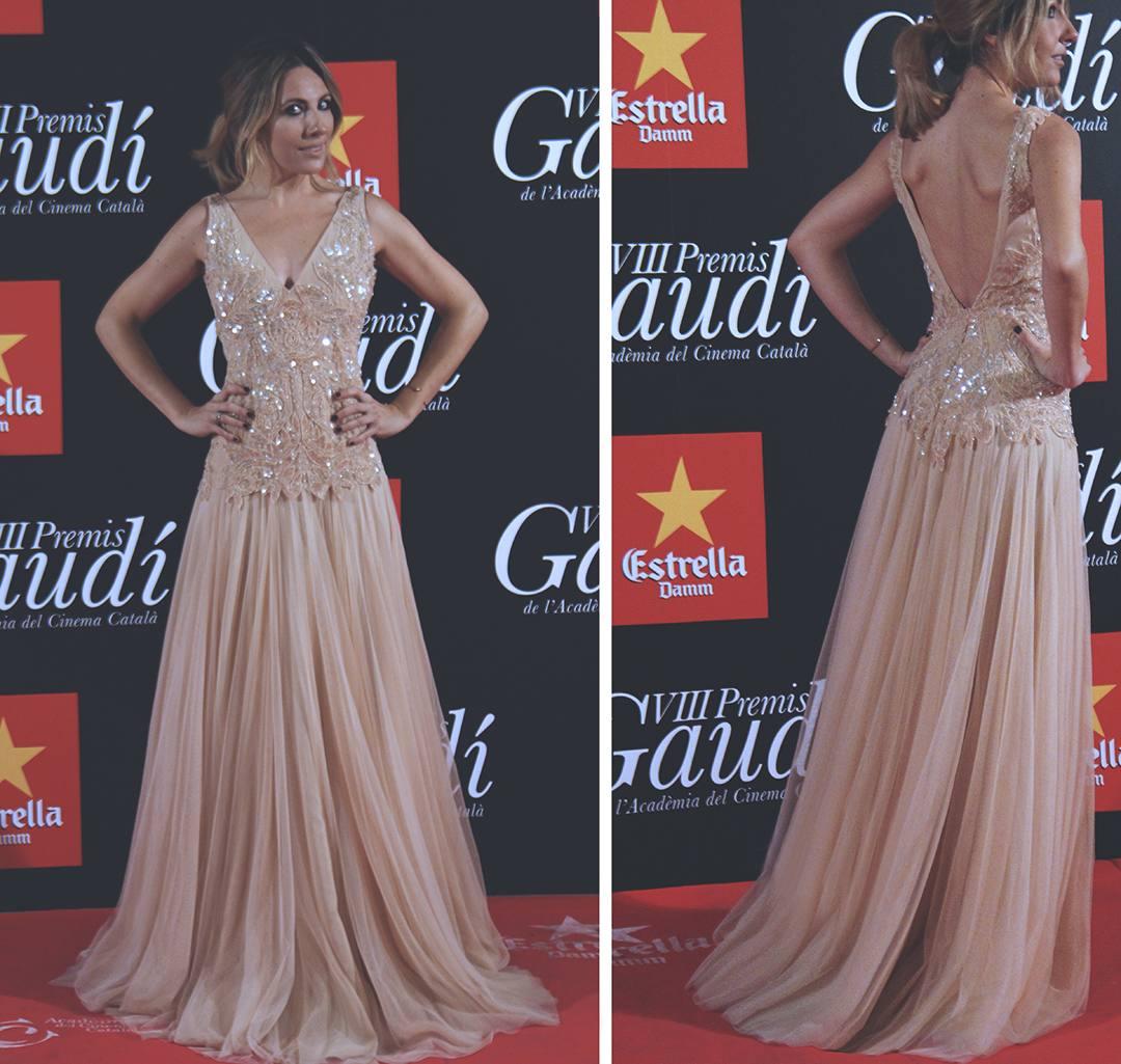 VIII-Premis-Gaudi-Alfombra-roja-red-carpet-Santos-Costura-tulle-dress-blogger-Monica-Sors
