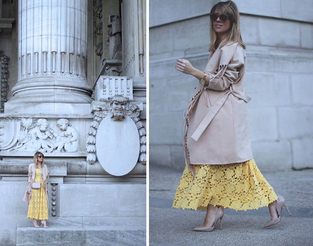STREET-STYLE-PARIS-FASHION-WEEK-2016-yellow-lace-dress