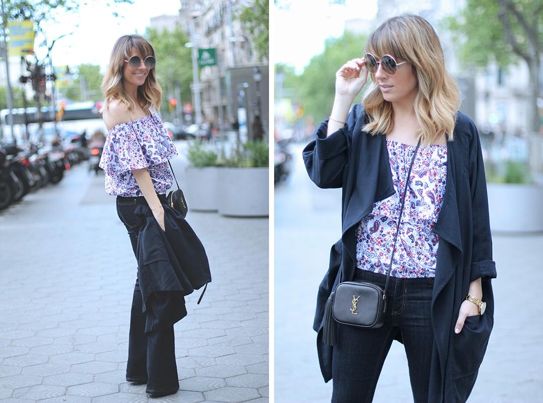 looks-con-jeans-de-campana-blogueras-de-moda