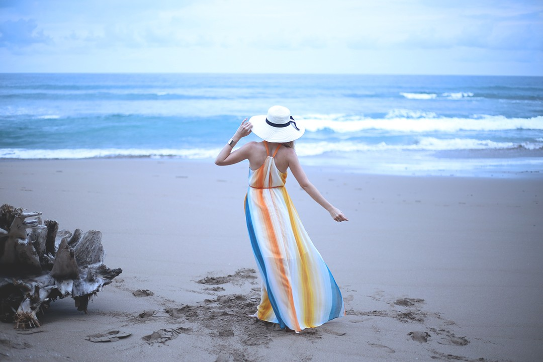 Vestido-rayas-hm-blogger