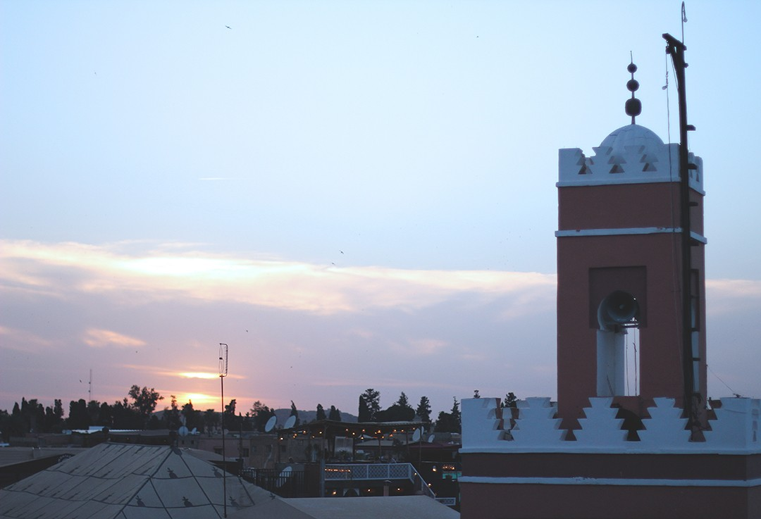 Marrakech-sunset