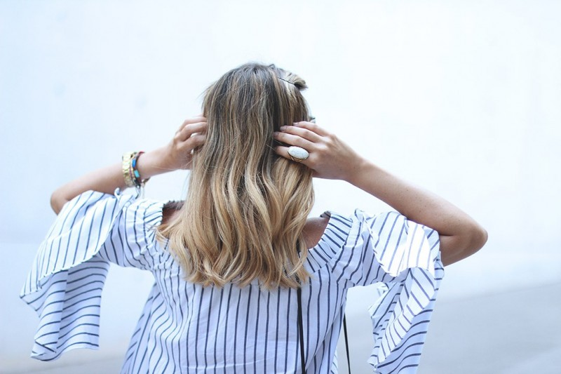 Blonde Fashion Blogger Hairstyle Monica Sors