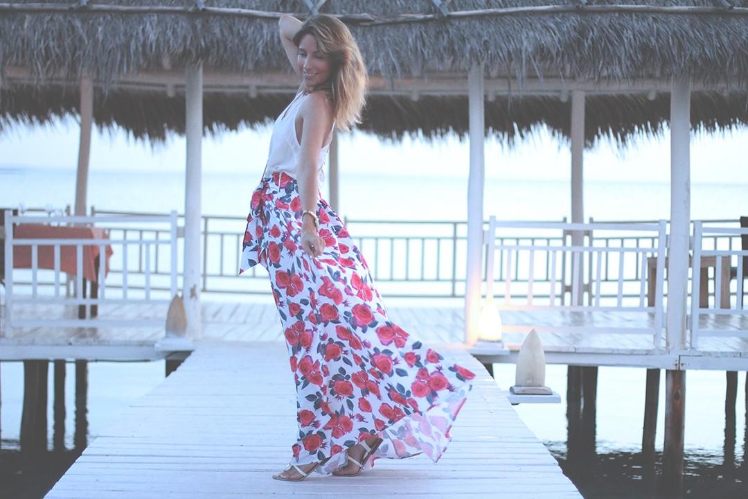 Long-printed-skirt