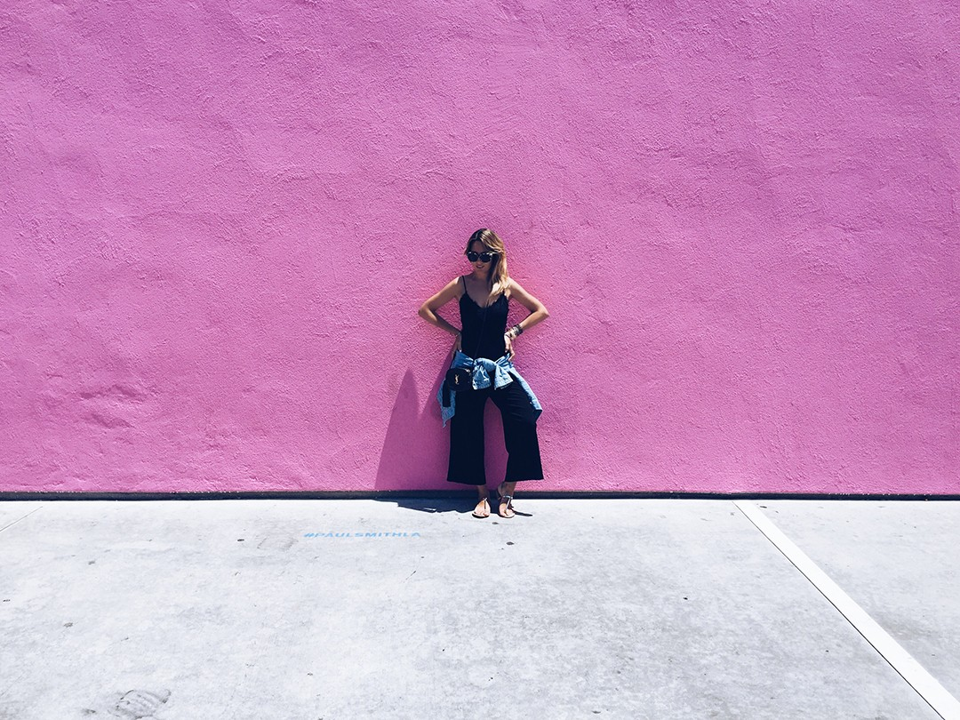 Pink-wall-Paul-Smith-LA-Instagram-spots