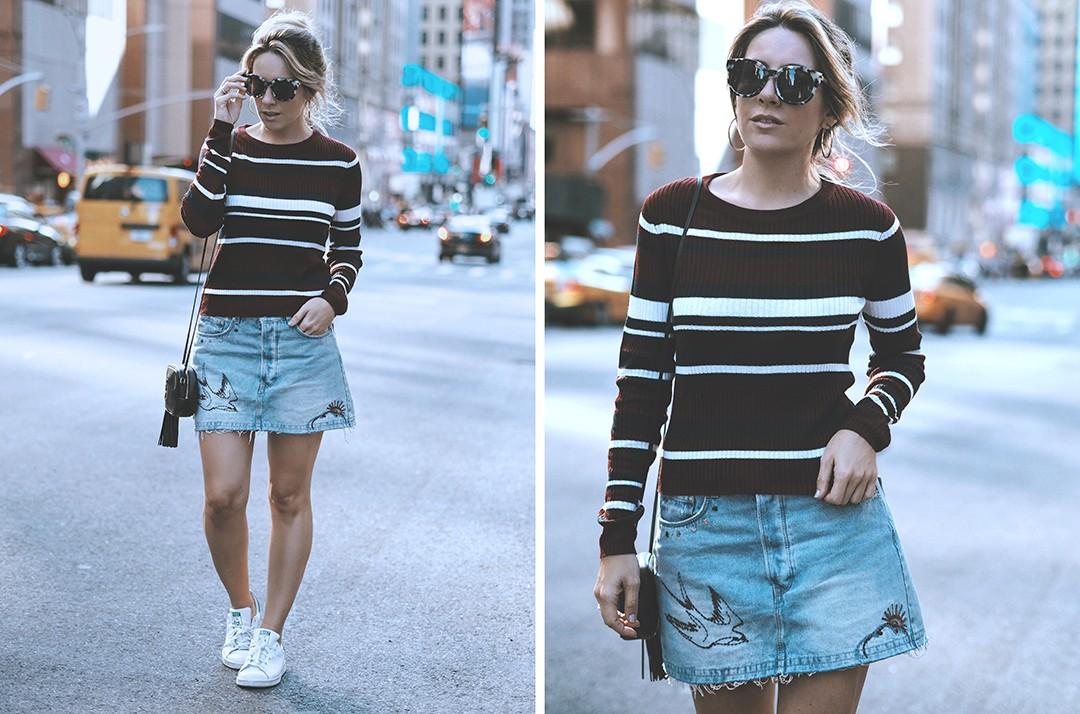 denim-skirt-street-style-new-york-fashion-week-september-2016