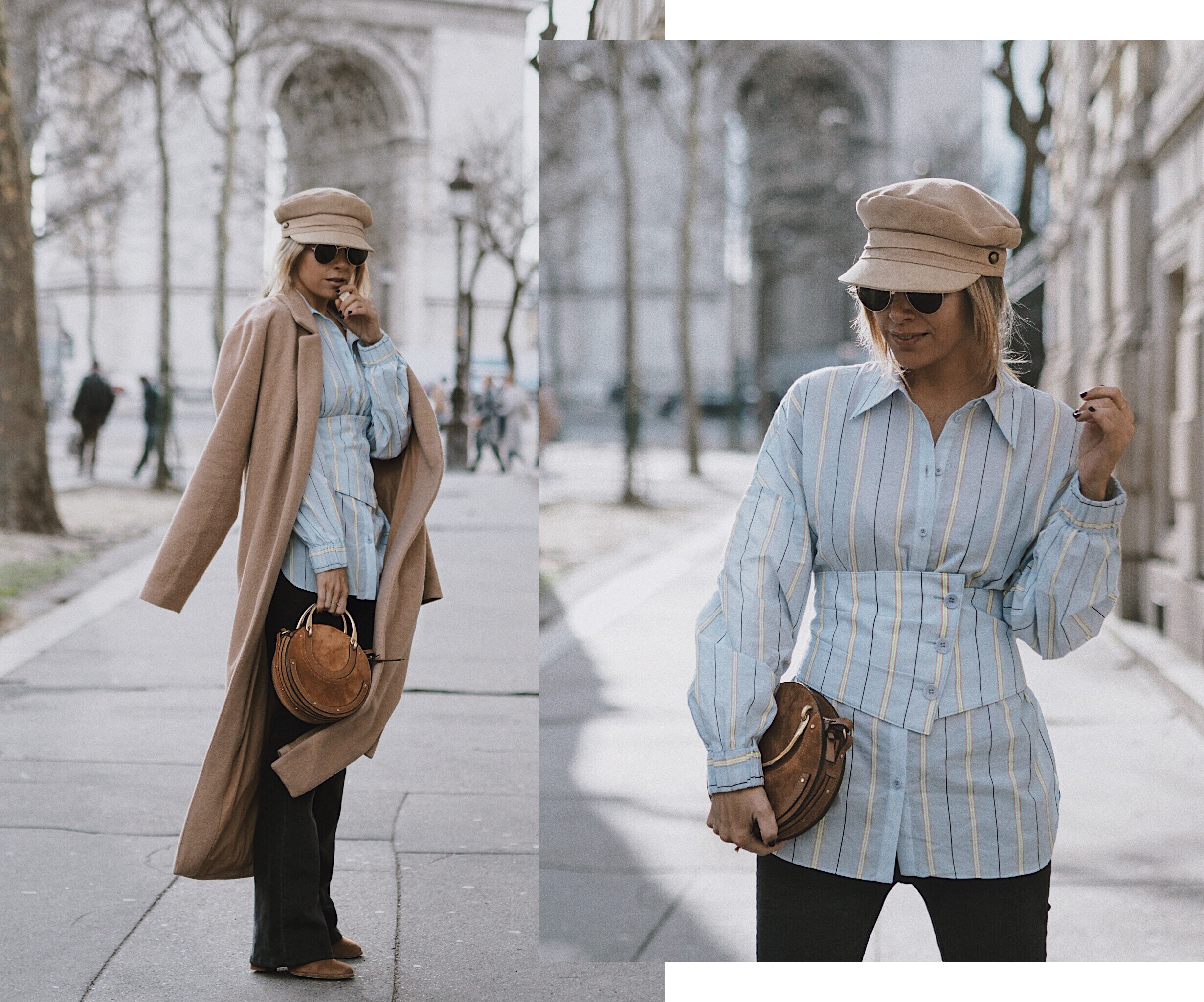 LOOK CASUAL CHIC | TIBI BLOUSE