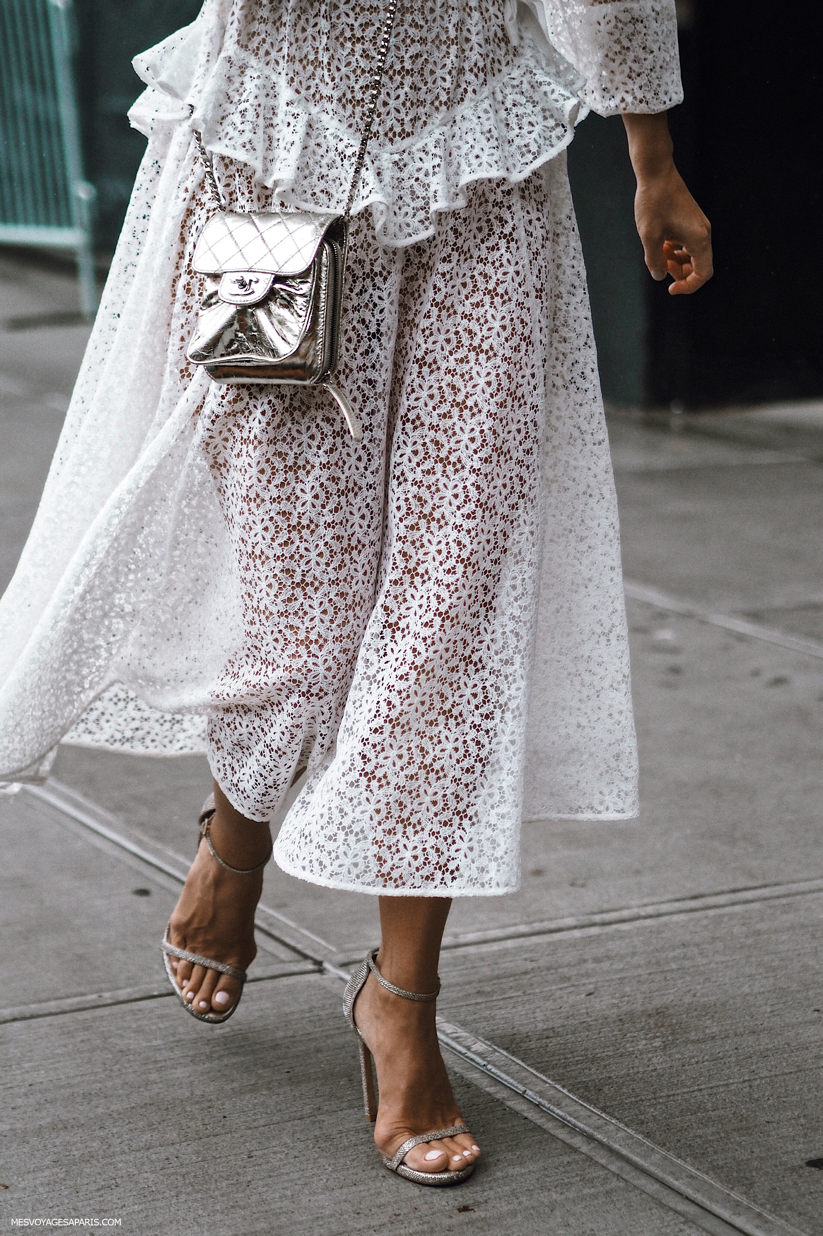 NYFW Street Style September 2018 white looks