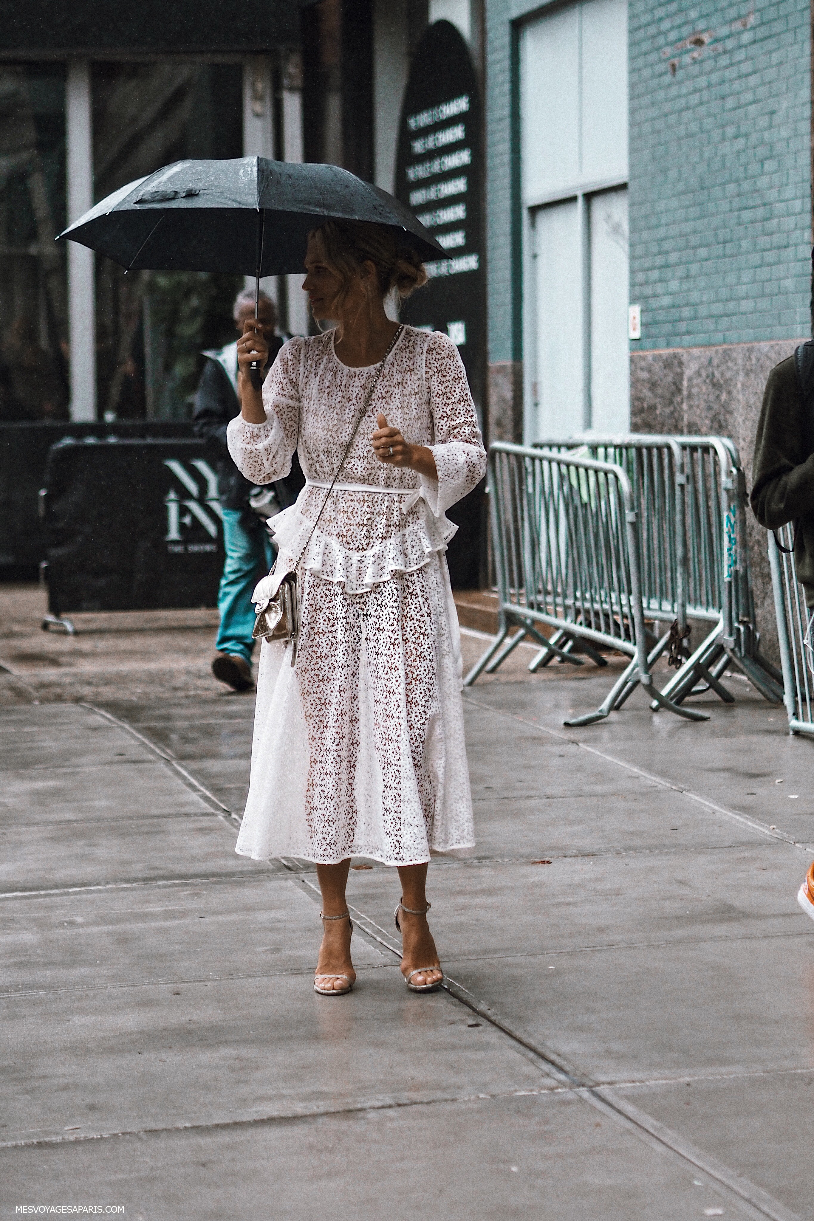 NYFW Street Style September 2018 white looks-2