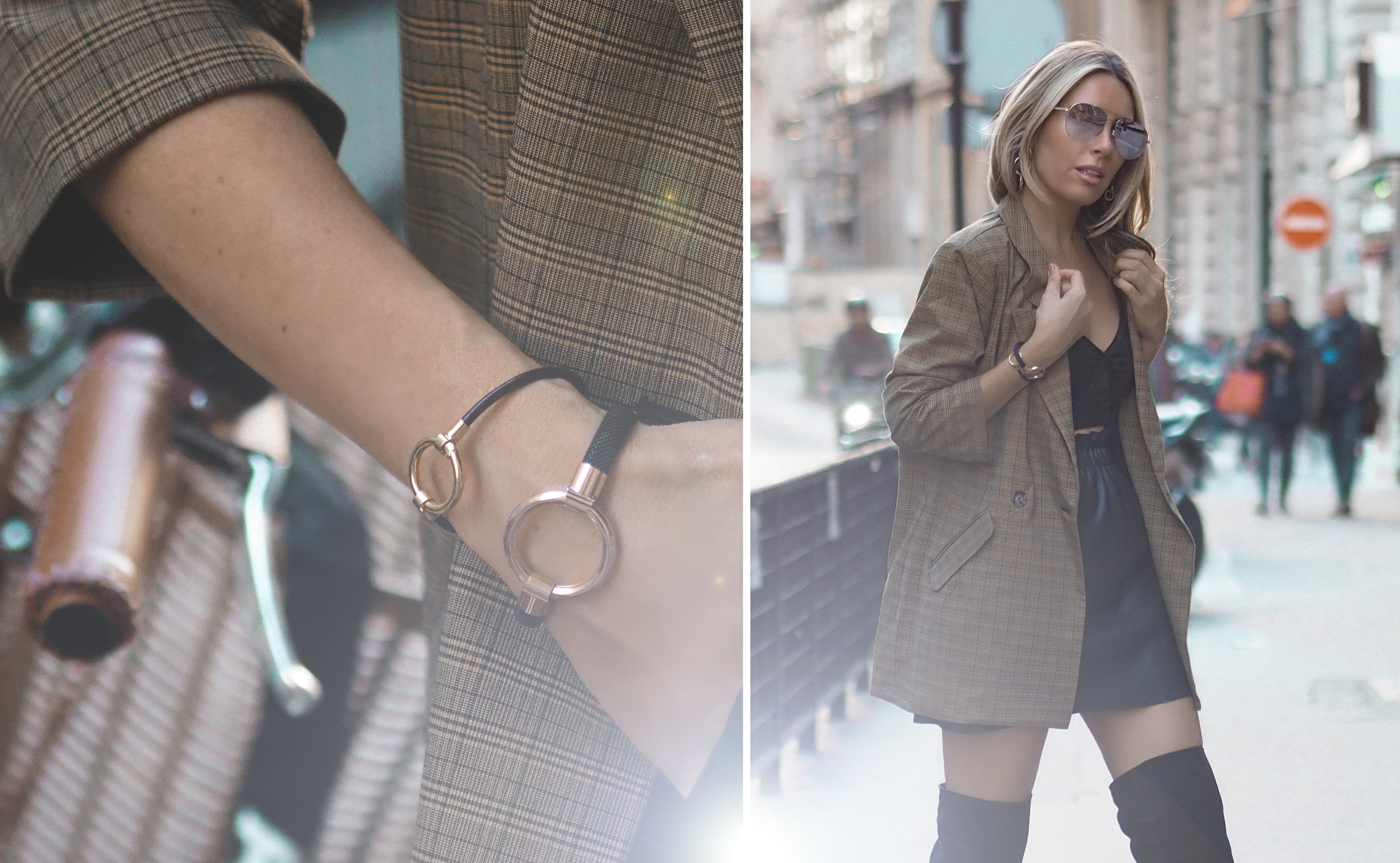 Hold Collection from Tous. By Monica Sors. PFW Street Style September 2018 3
