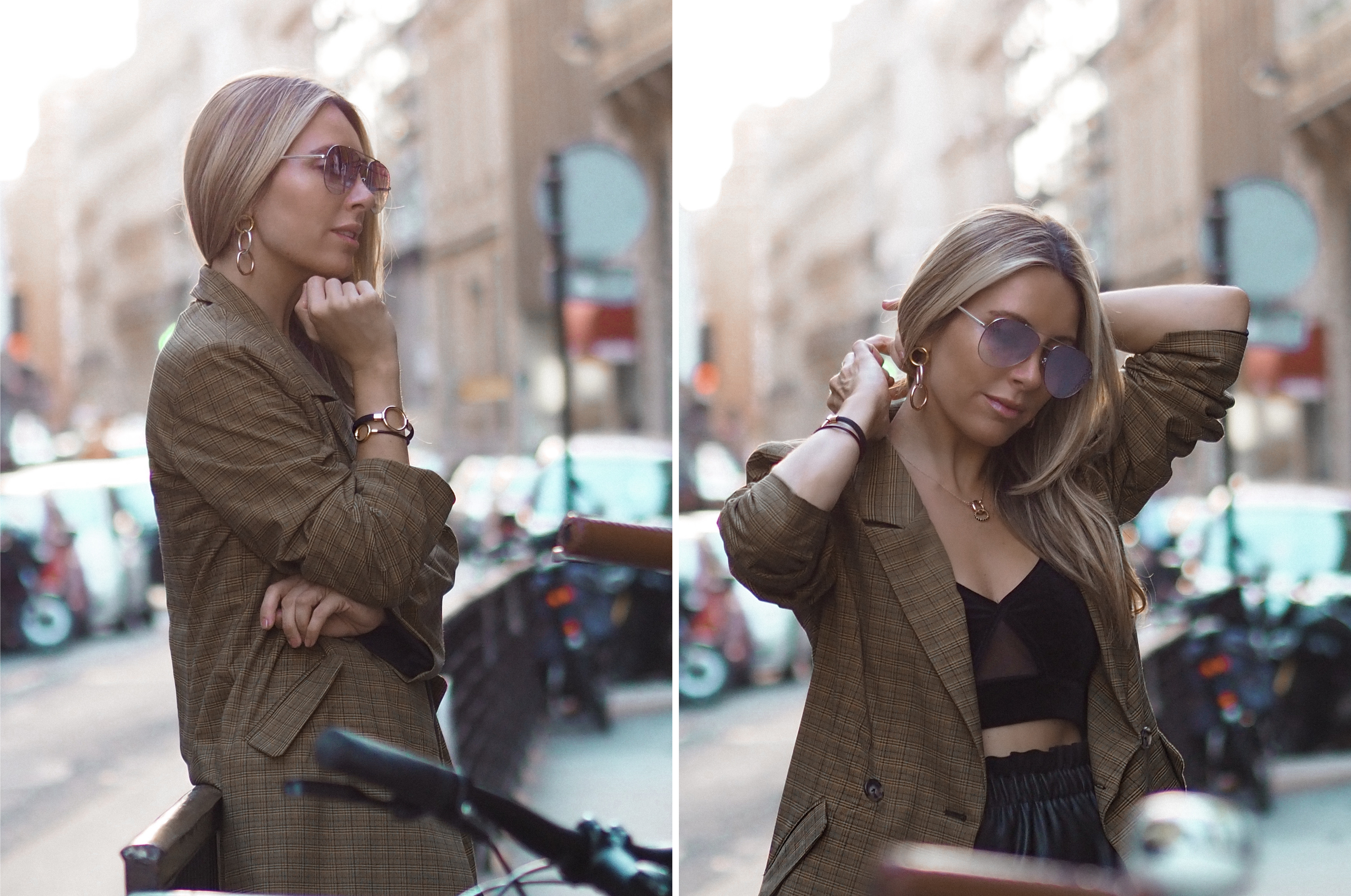 Hold Collection from Tous. By Monica Sors. PFW Street Style September 2018