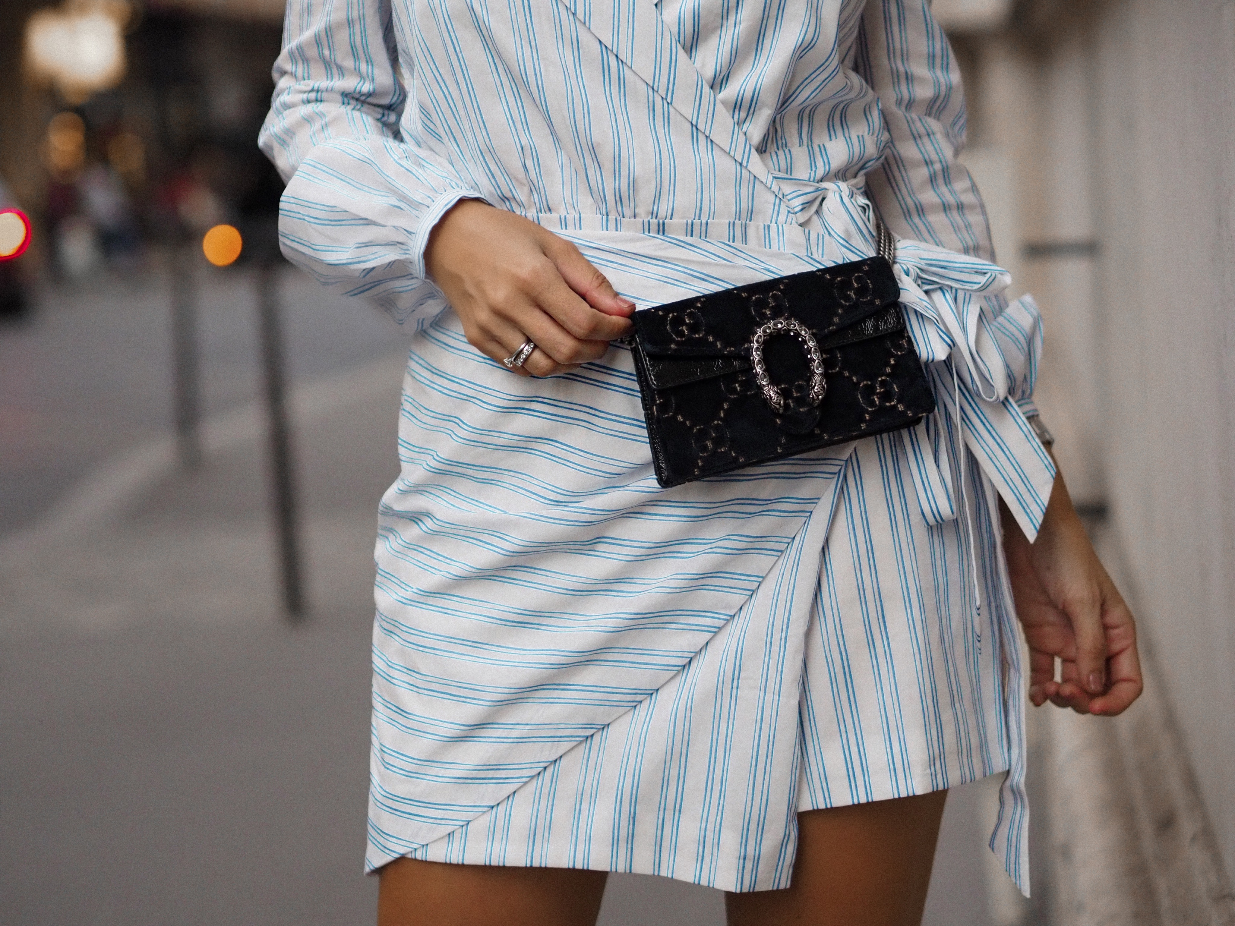 Gucci mini bag fashion blogger Monica Sors