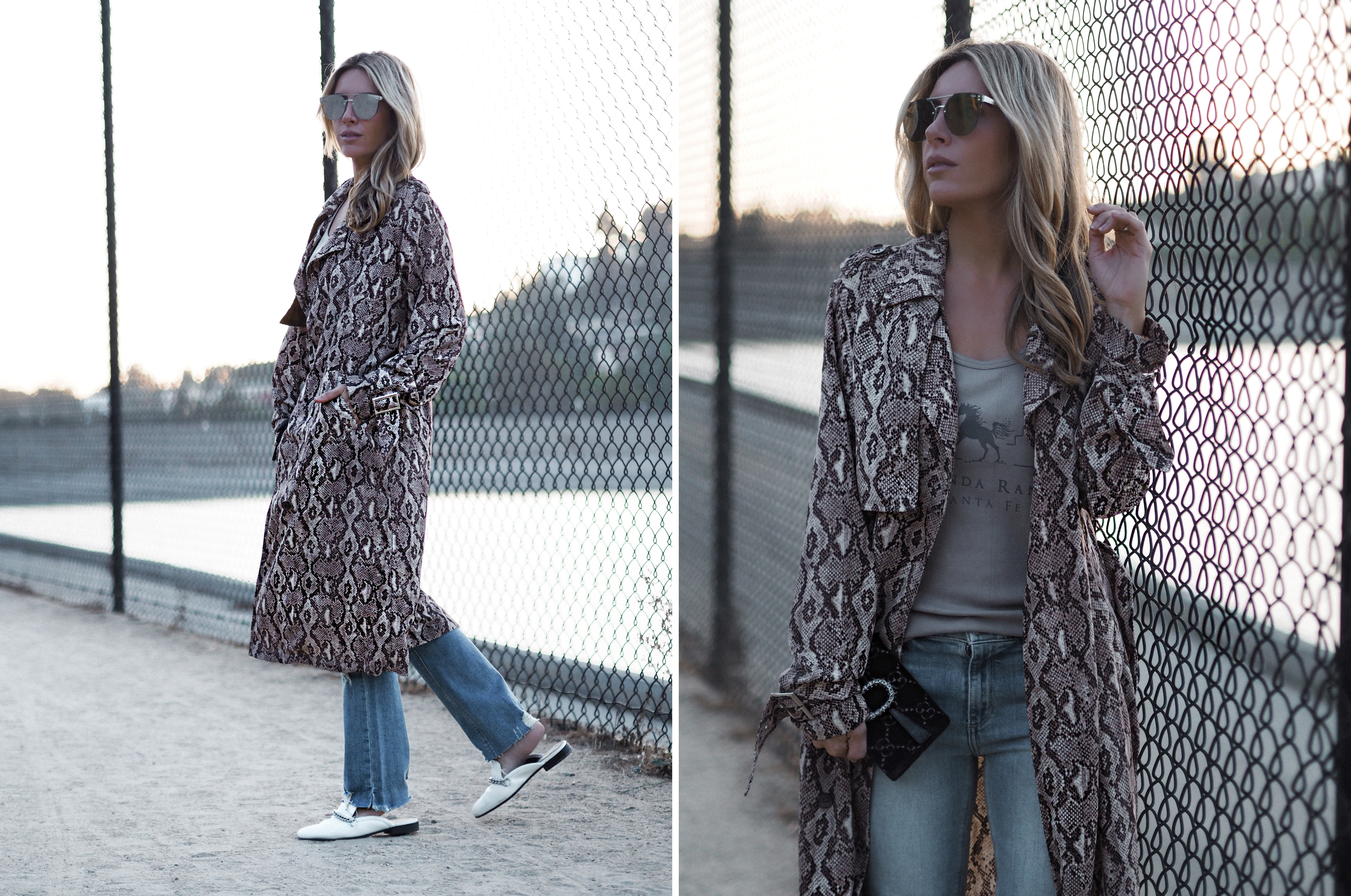 animal print look by Spanish Influencer Monica Sors 11