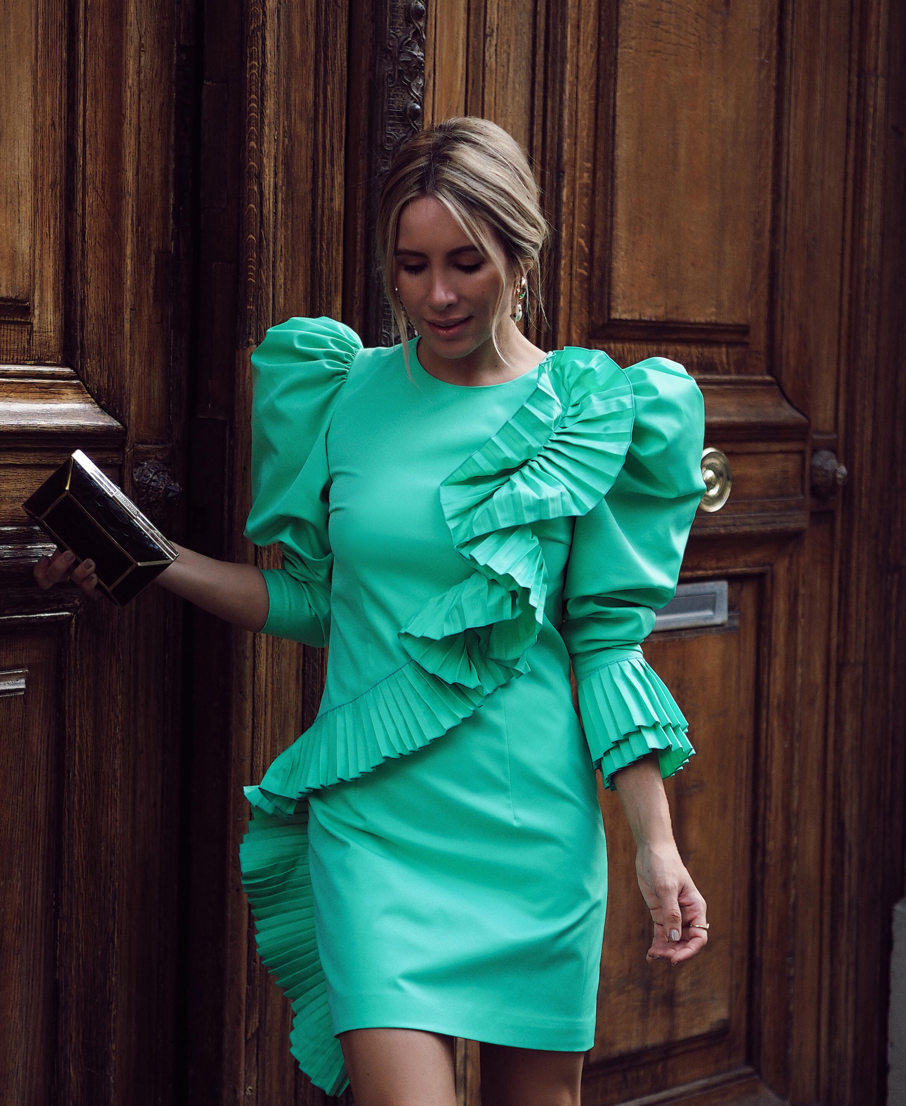 puff-sleeves-dress