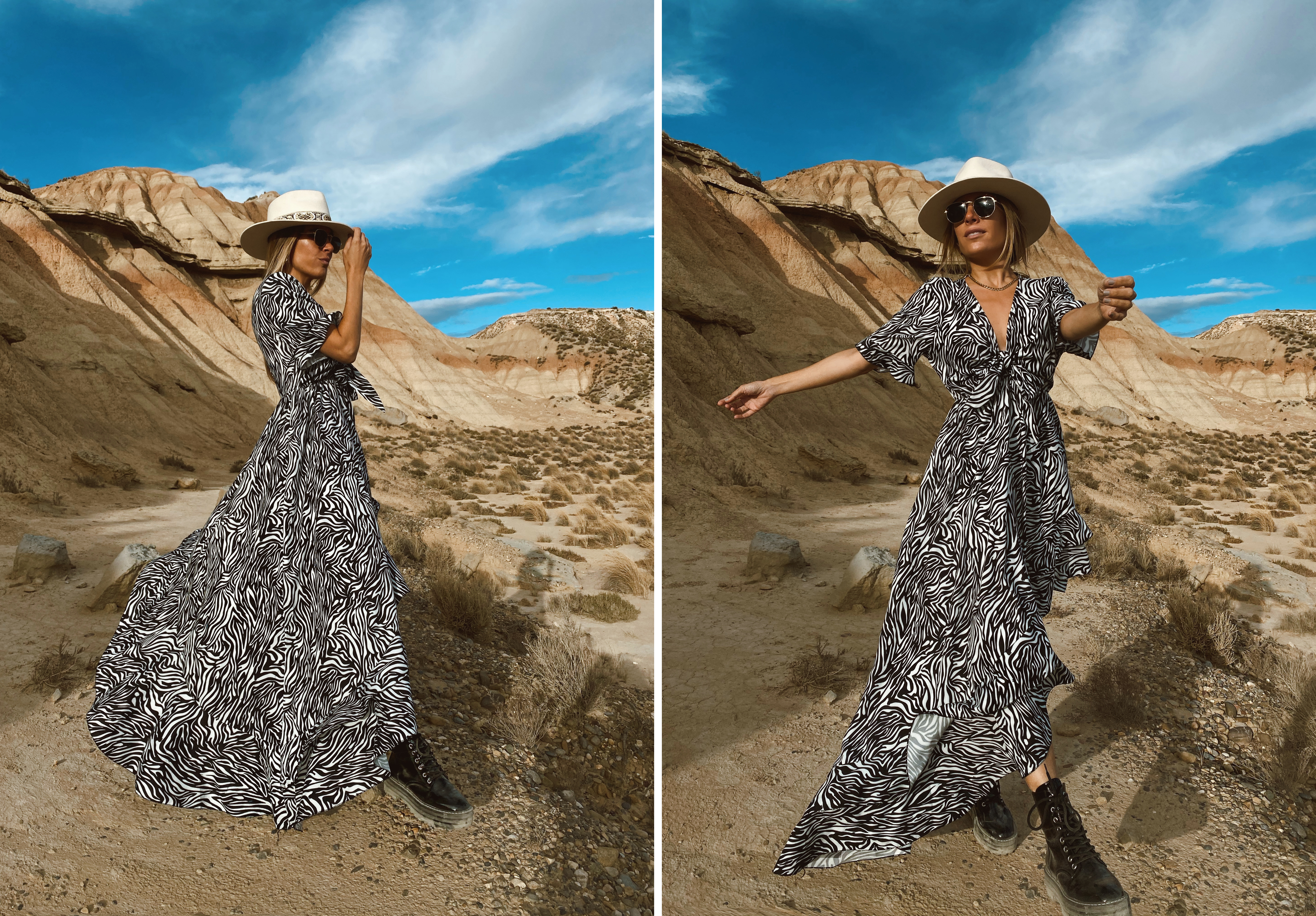 zebra-print-dress-influencer